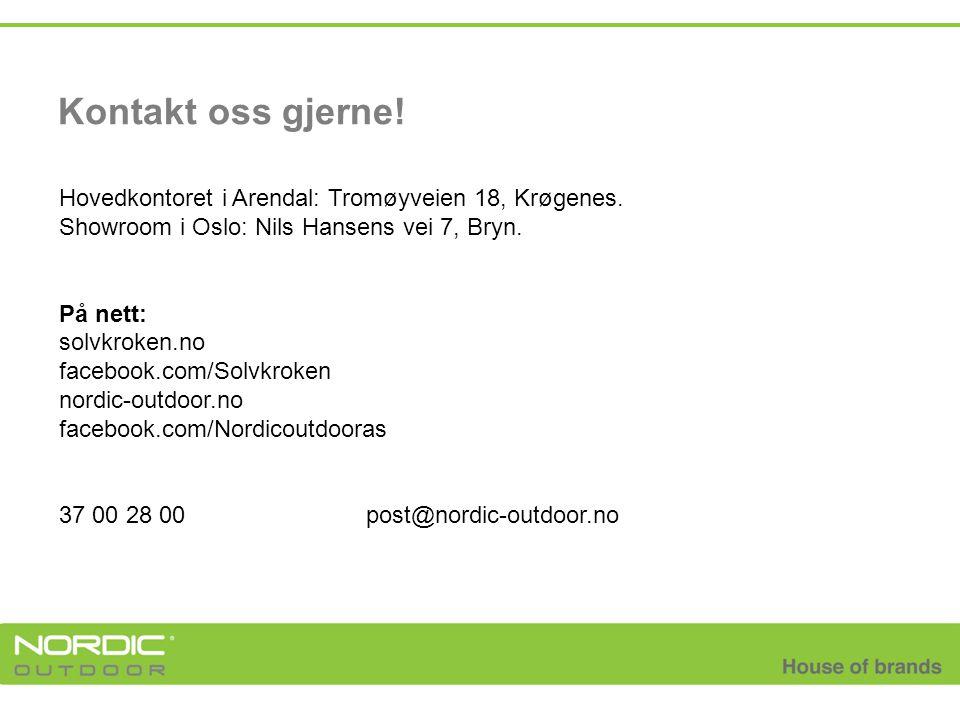 Kontakt oss gjerne! Hovedkontoret i Arendal: Tromøyveien 18, Krøgenes.