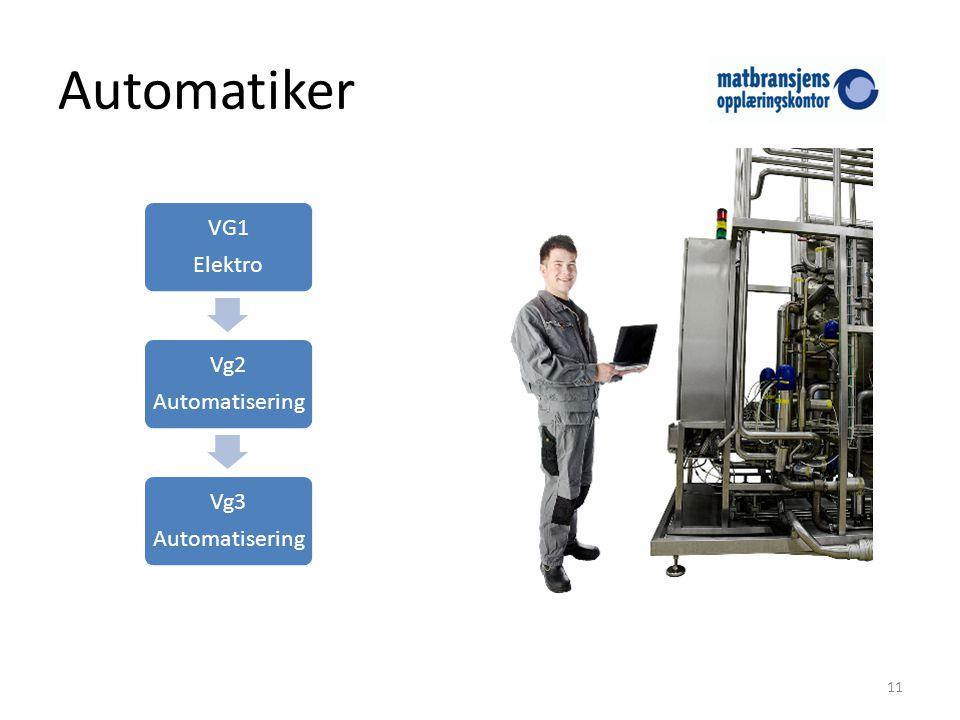 Automatiker Elektro VG1 Automatisering Vg2 Vg3