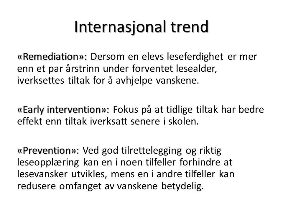 Internasjonal trend