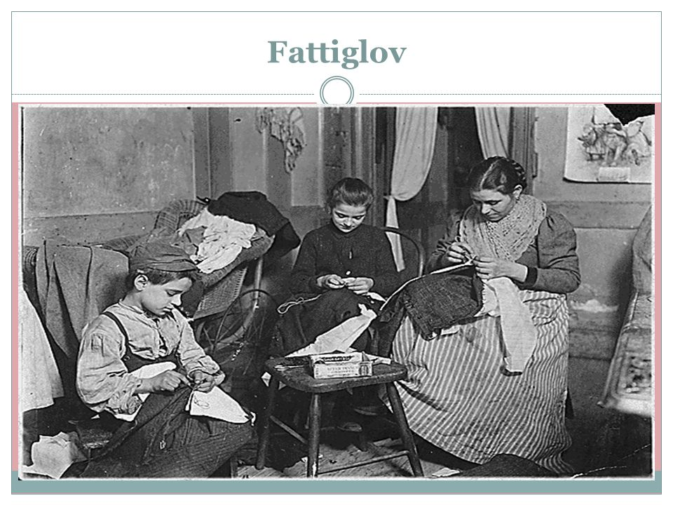 Fattiglov