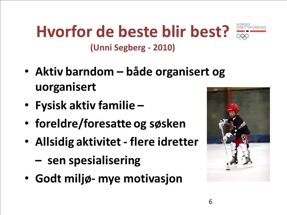 Hvorfor de beste blir best (Unni Segberg - 2010)