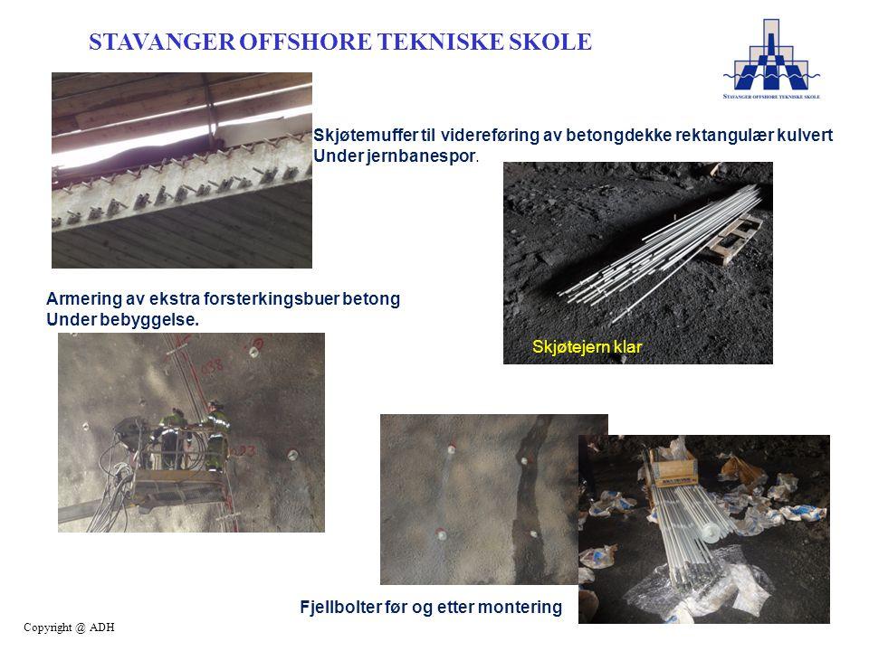 Skjøtemuffer til videreføring av betongdekke rektangulær kulvert