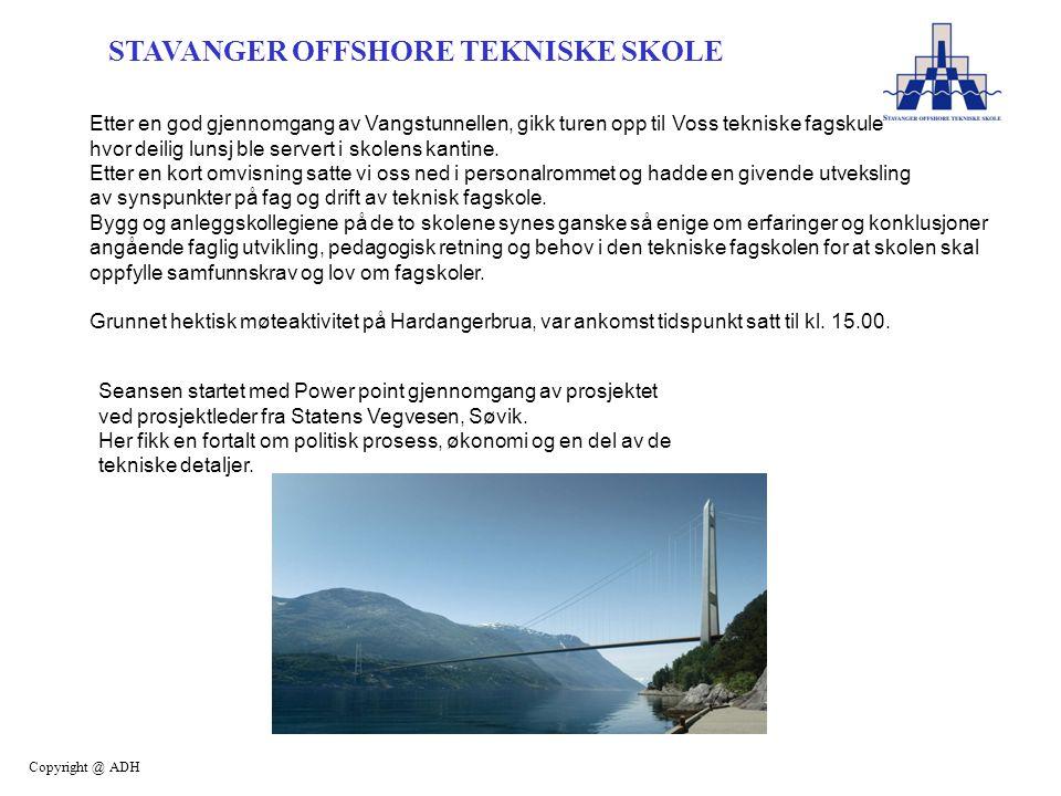 Etter en god gjennomgang av Vangstunnellen, gikk turen opp til Voss tekniske fagskule