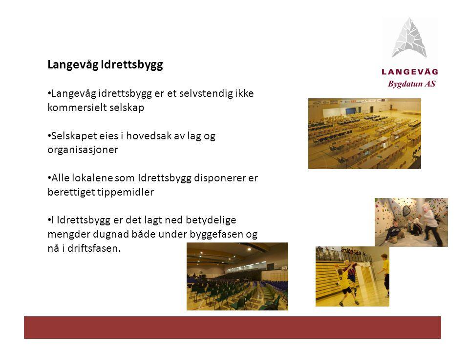 Langevåg Idrettsbygg Langevåg idrettsbygg er et selvstendig ikke kommersielt selskap. Selskapet eies i hovedsak av lag og organisasjoner.
