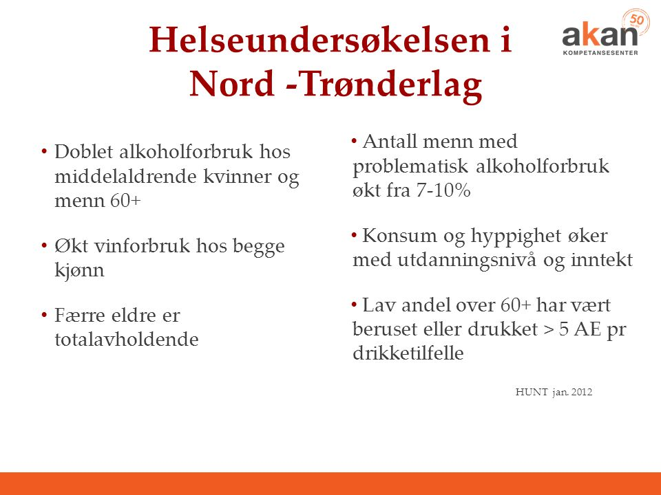 Helseundersøkelsen i Nord -Trønderlag