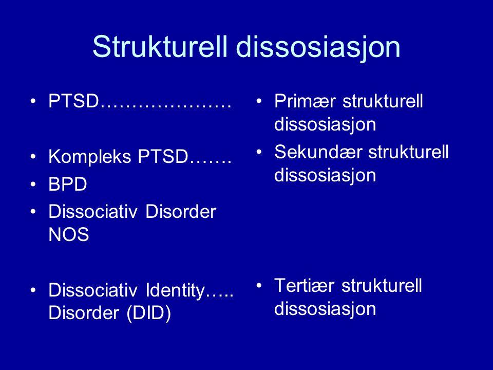 Strukturell dissosiasjon