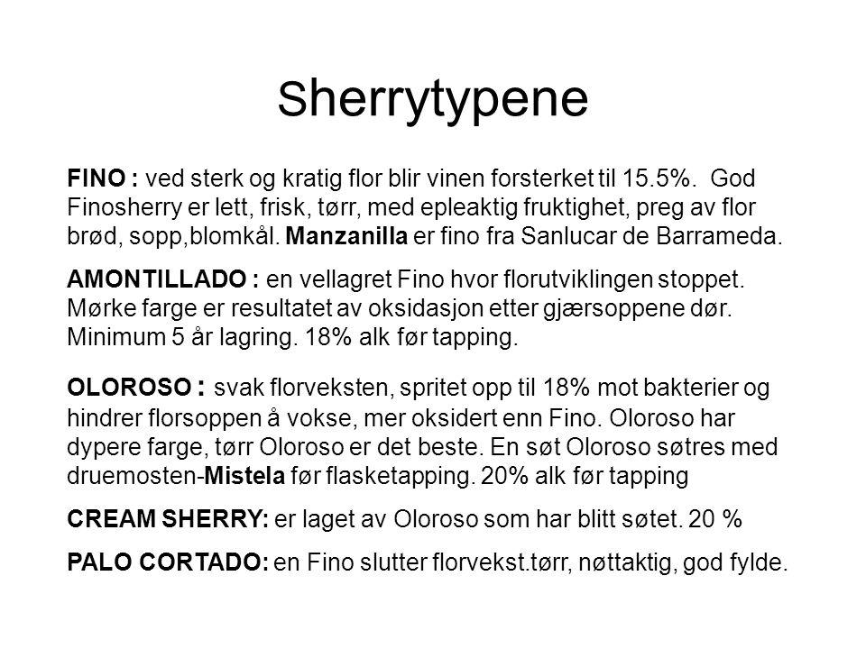 Sherrytypene