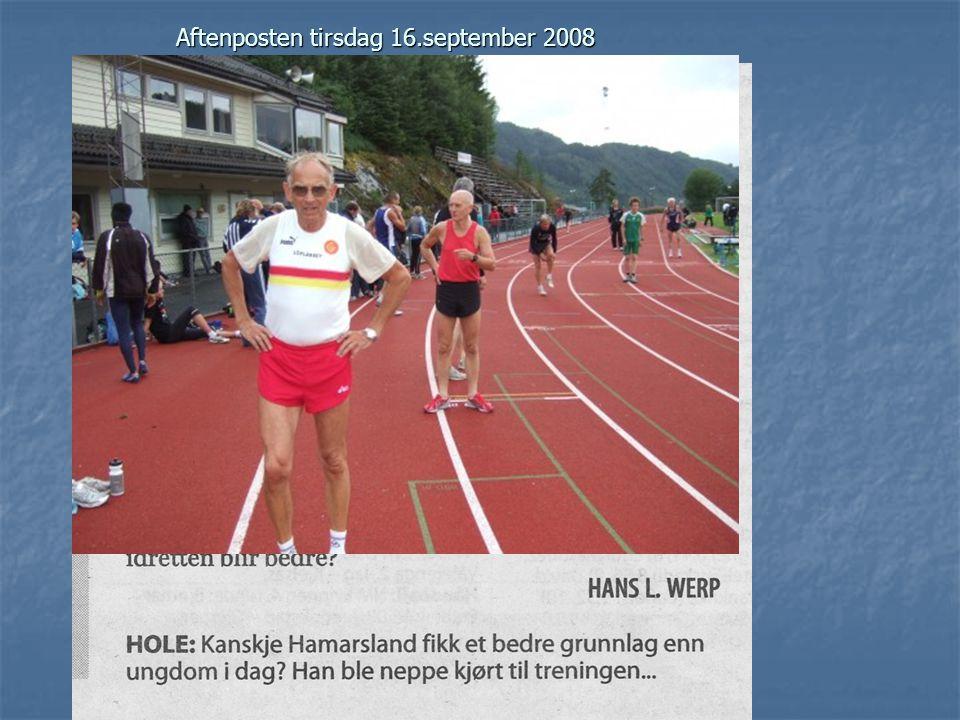 Aftenposten tirsdag 16.september 2008
