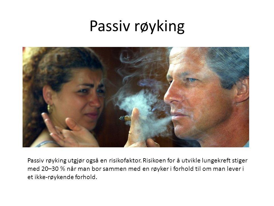 Passiv røyking