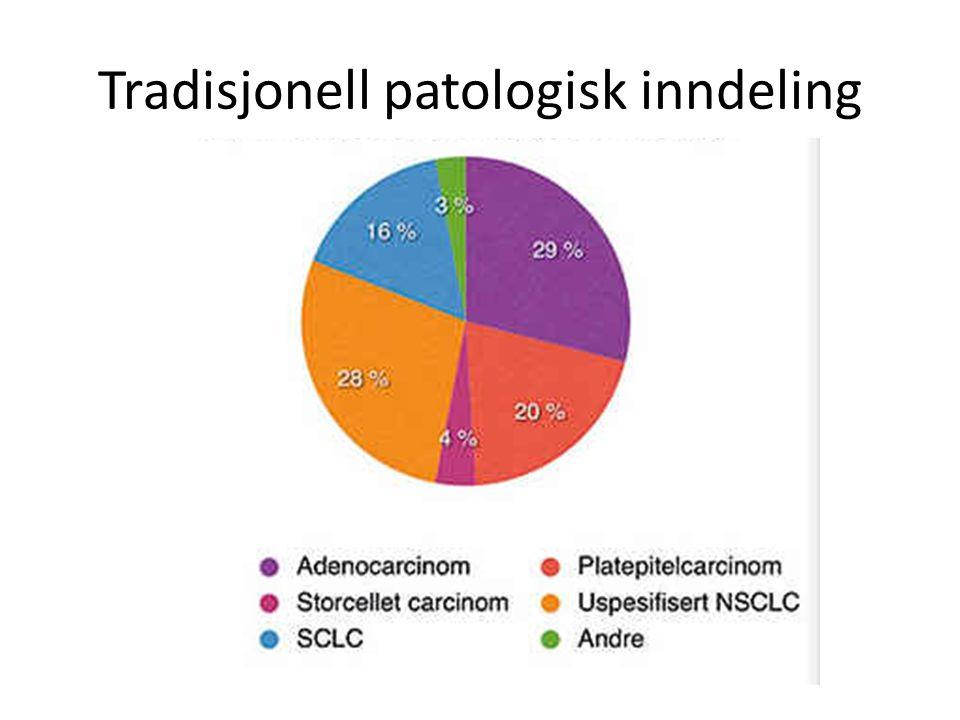 Tradisjonell patologisk inndeling