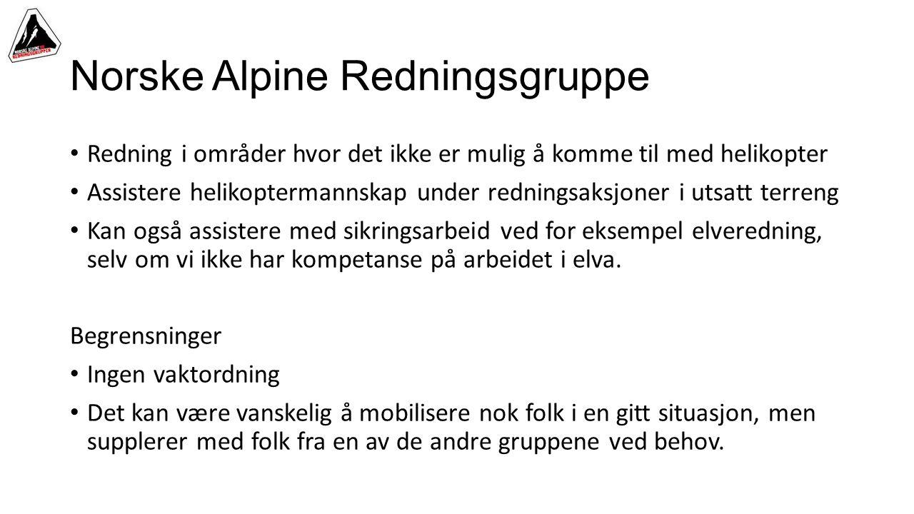 Norske Alpine Redningsgruppe