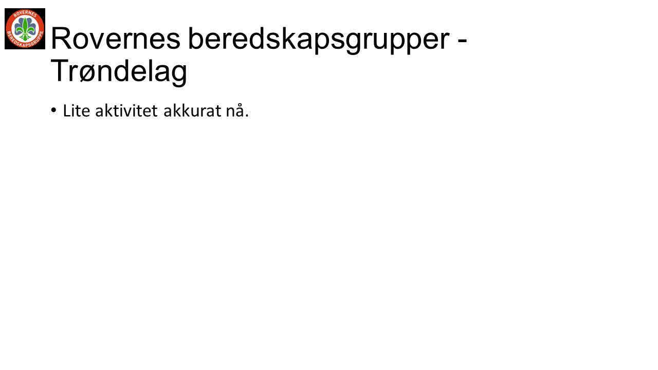 Rovernes beredskapsgrupper - Trøndelag