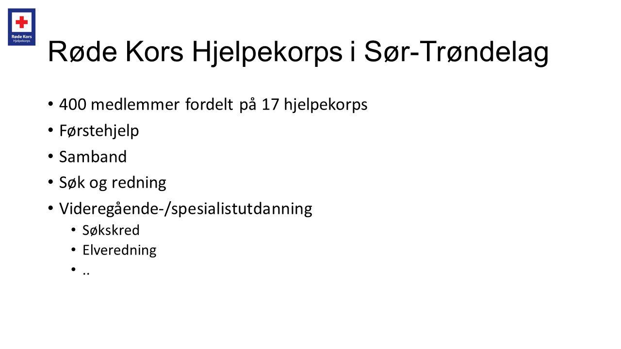 Røde Kors Hjelpekorps i Sør-Trøndelag