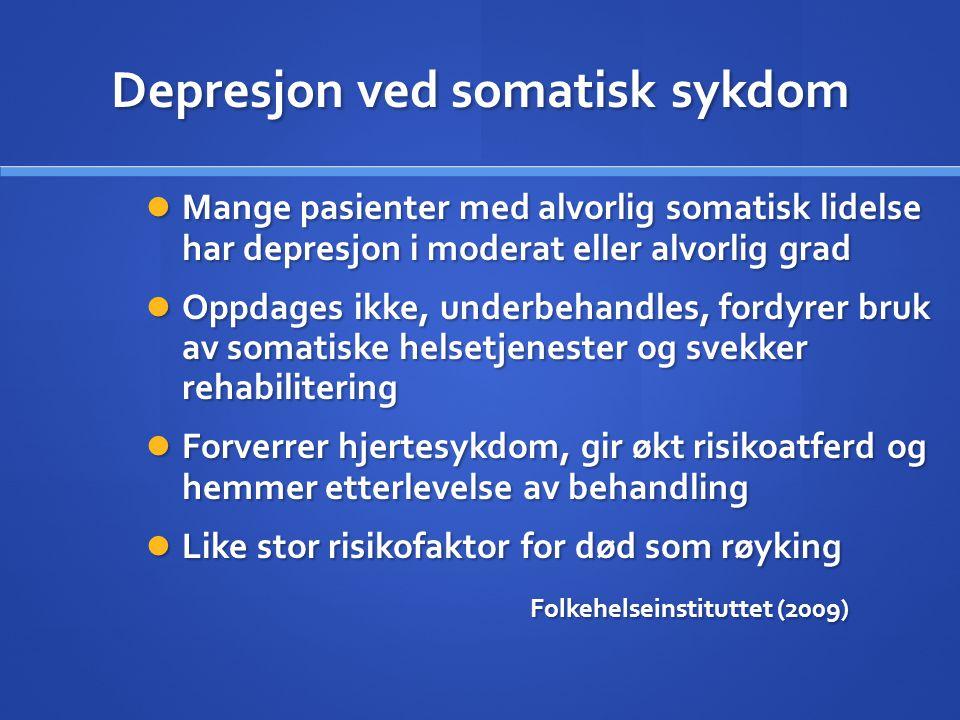 Depresjon ved somatisk sykdom