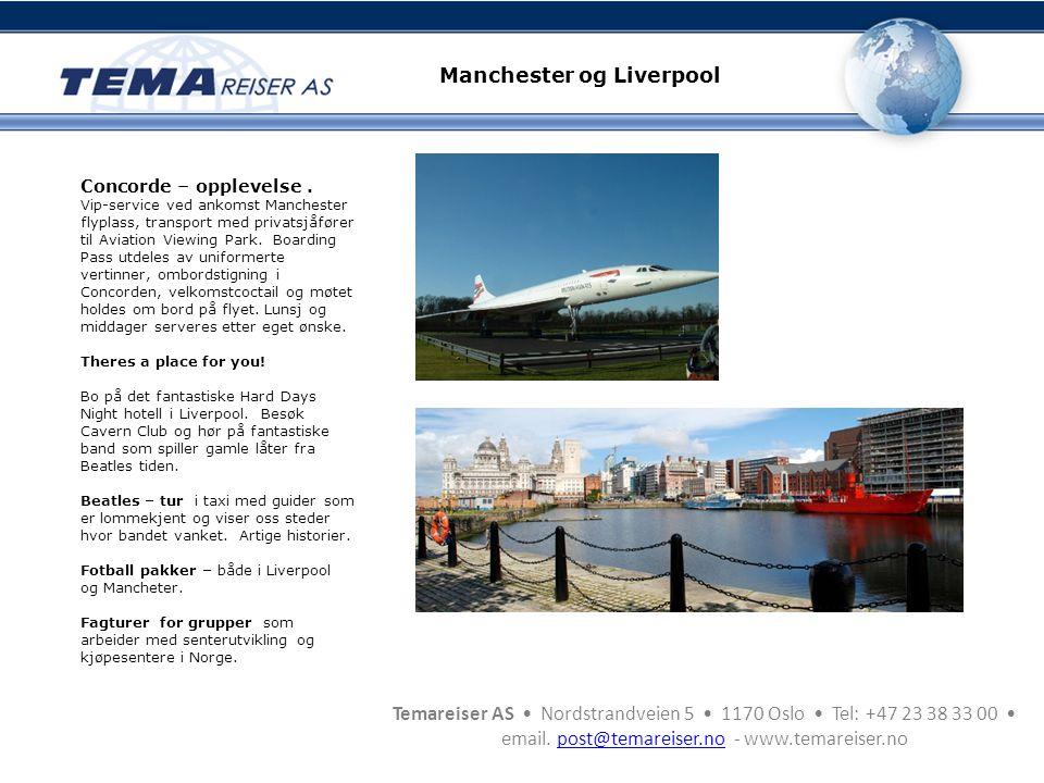 Manchester og Liverpool