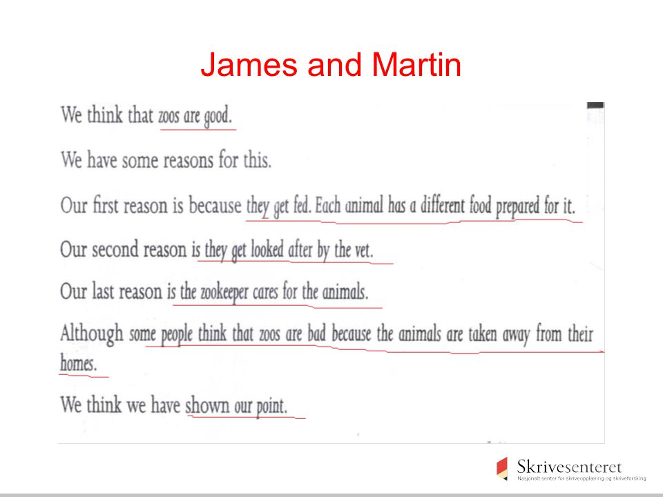 James and Martin