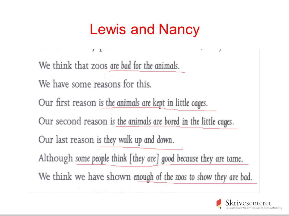 Lewis and Nancy