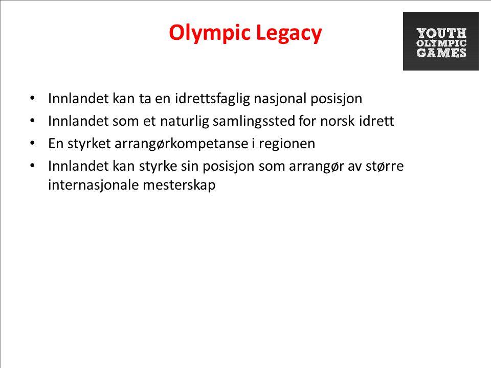 Olympic Legacy Innlandet kan ta en idrettsfaglig nasjonal posisjon