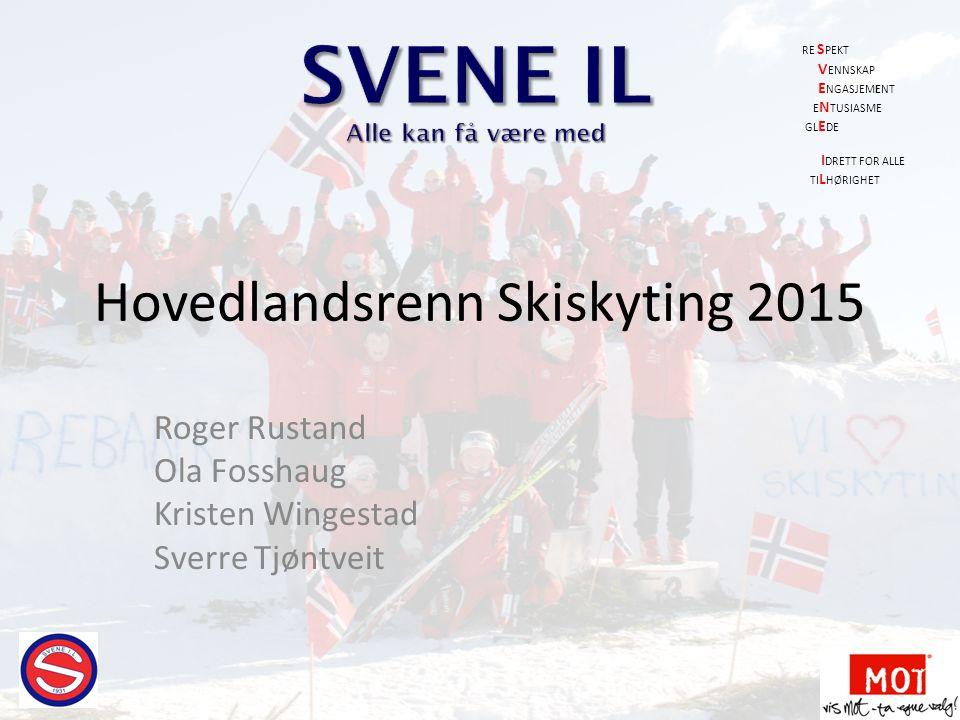 Hovedlandsrenn Skiskyting 2015
