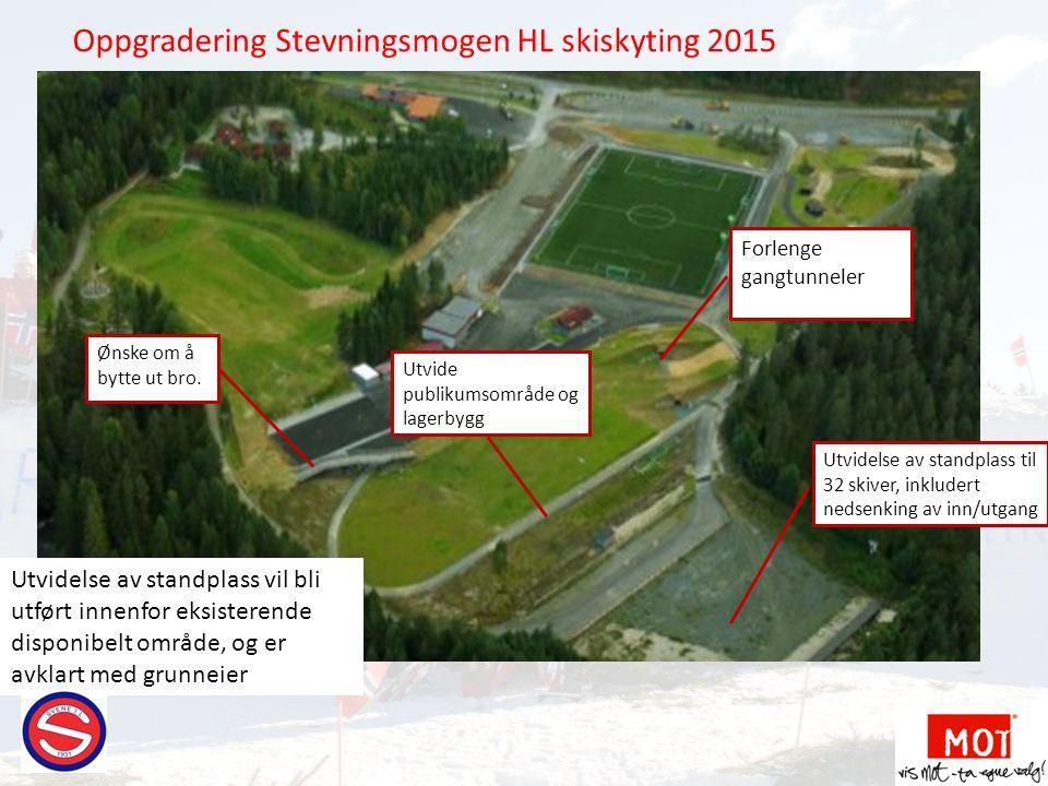Oppgradering Stevningsmogen HL skiskyting 2015
