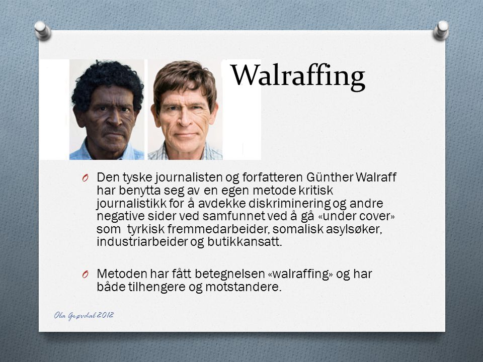 Walraffing