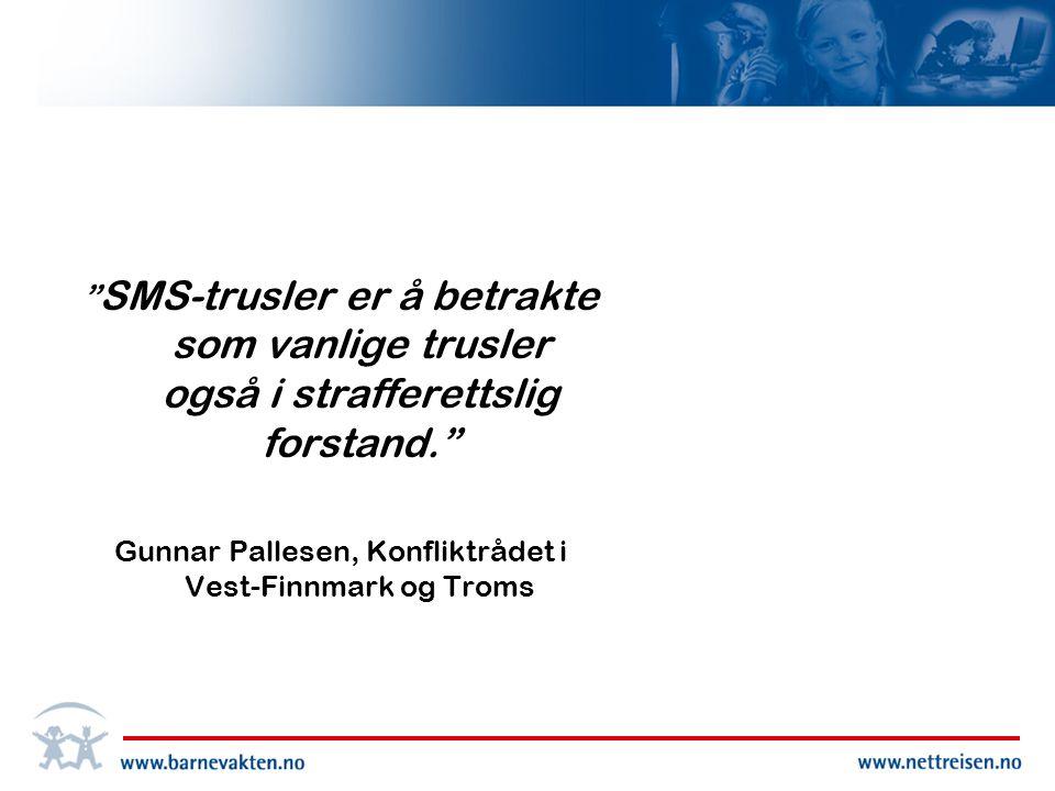 Gunnar Pallesen, Konfliktrådet i Vest-Finnmark og Troms
