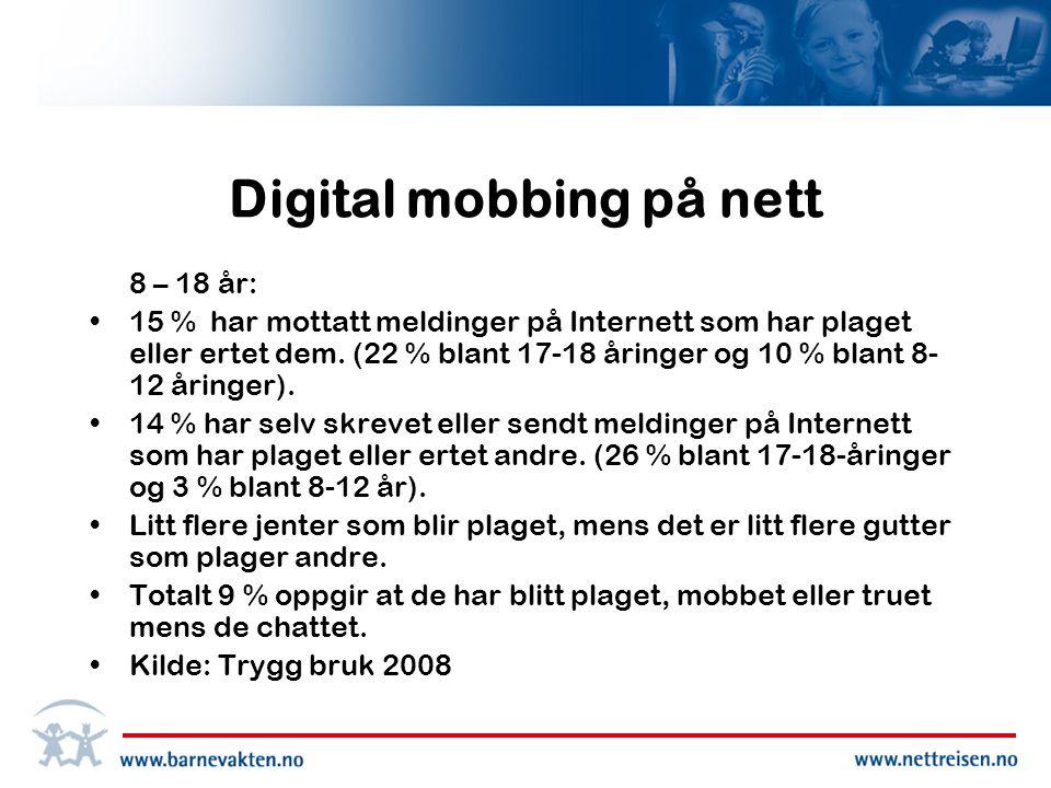 Digital mobbing på nett