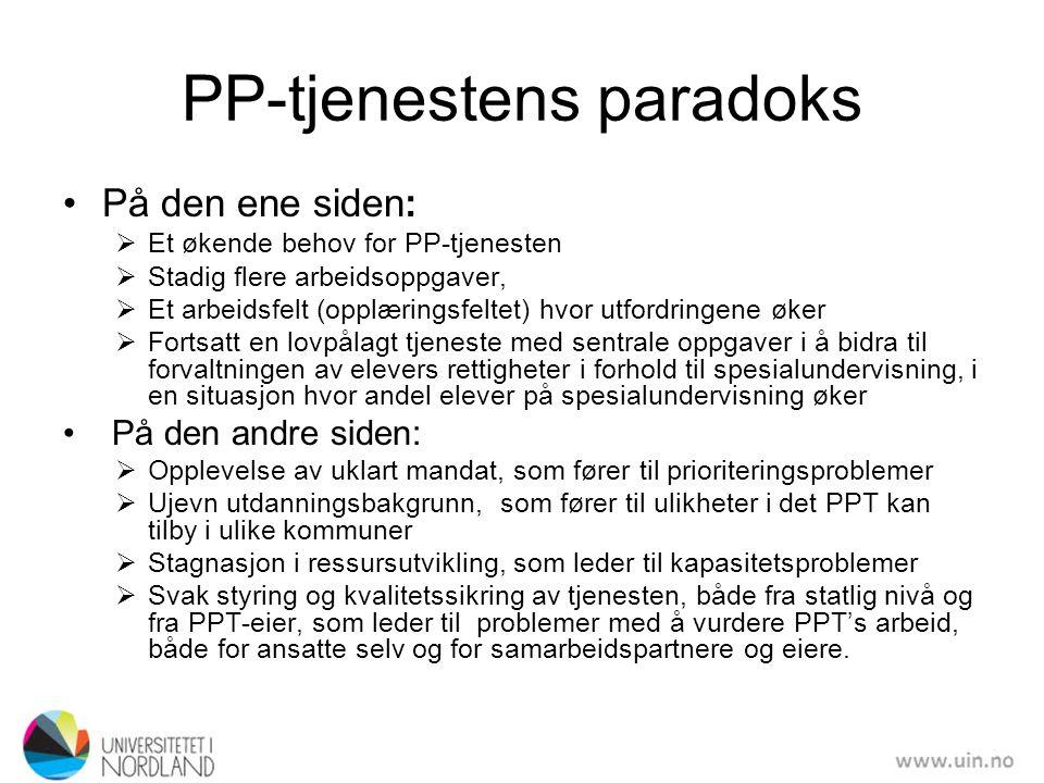 PP-tjenestens paradoks