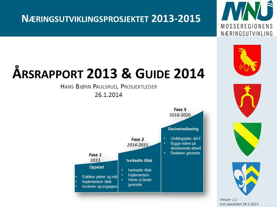 Næringsutviklingsprosjektet 2013-2015