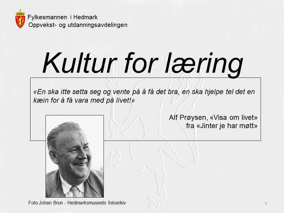 Fylkesmannen i Hedmark – Utdanningsdirektør Anne Cathrine Holte