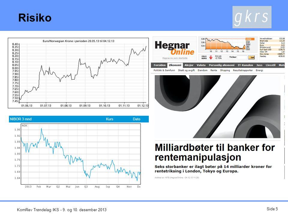 Risiko KomRev Trøndelag IKS - 9. og 10. desember 2013