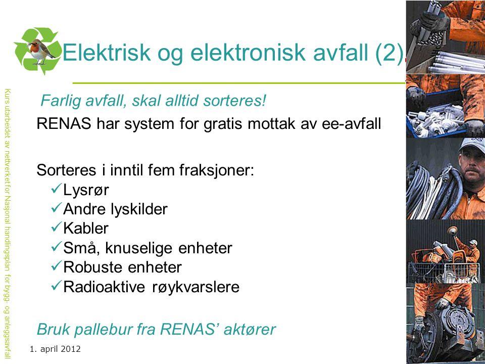 Elektrisk og elektronisk avfall (2)
