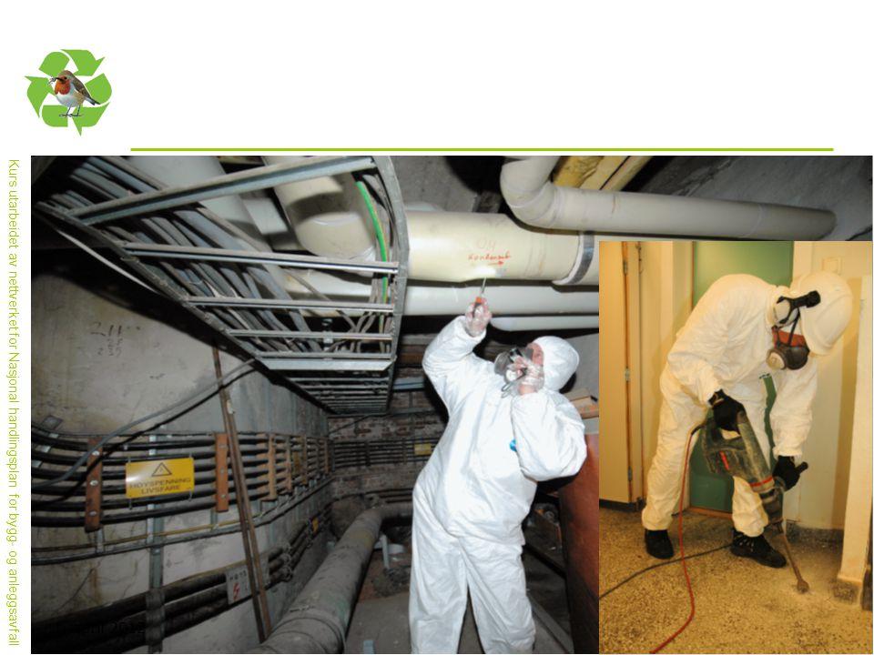 Miljøkartlegging krever mye utstyr, vernetiltak og kunnskap om byggemetoder og komponenter.