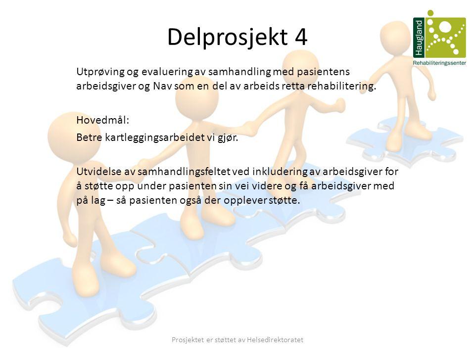Prosjektet er støttet av Helsedirektoratet