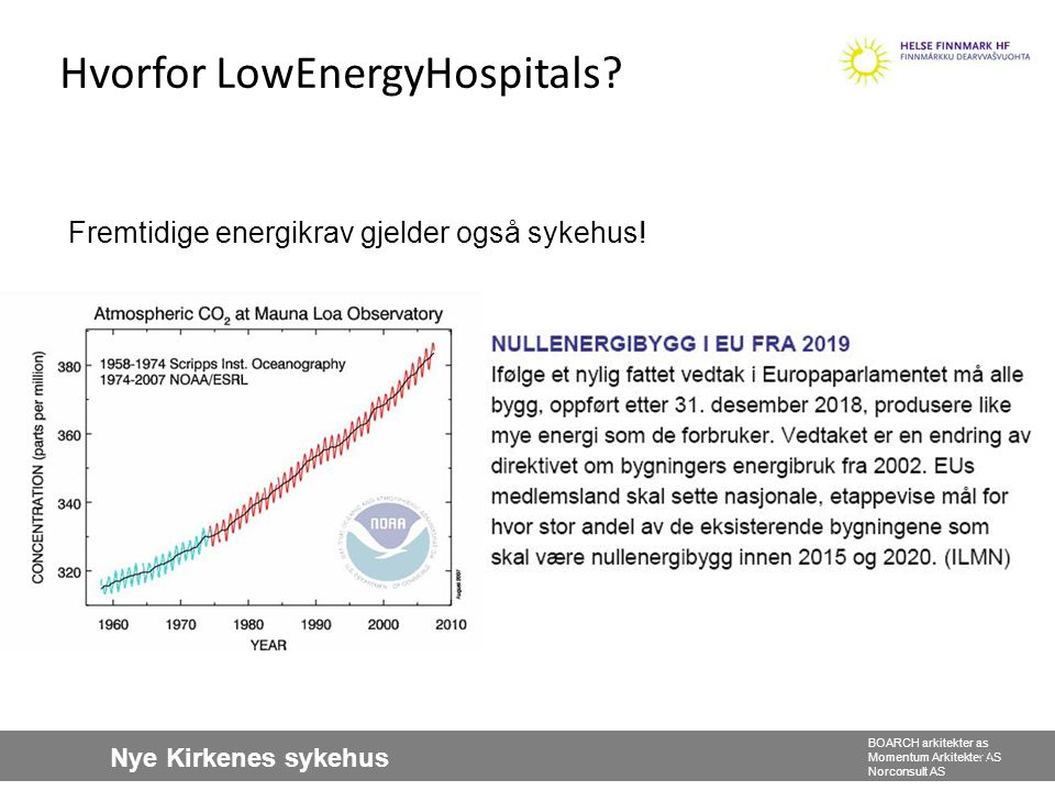 Hvorfor LowEnergyHospitals