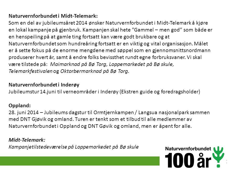 Naturvernforbundet i Midt-Telemark: