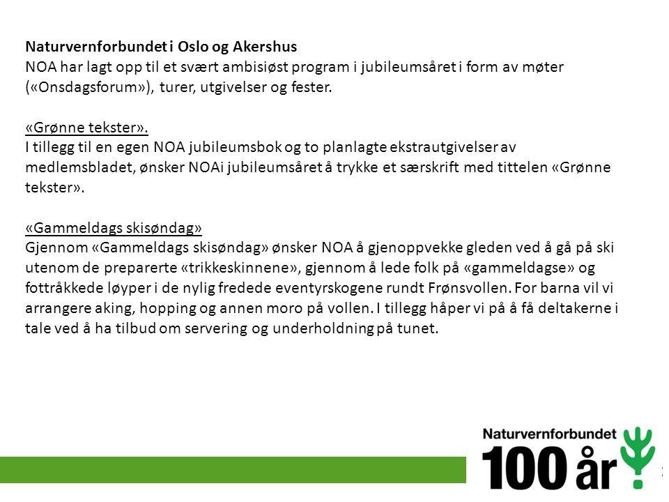 Naturvernforbundet i Oslo og Akershus