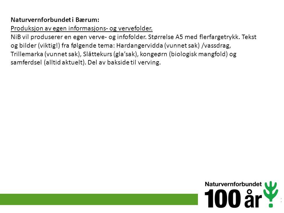 Naturvernforbundet i Bærum: