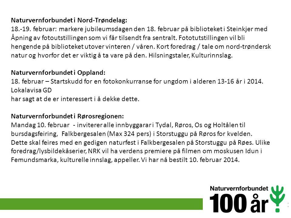 Naturvernforbundet i Nord-Trøndelag: