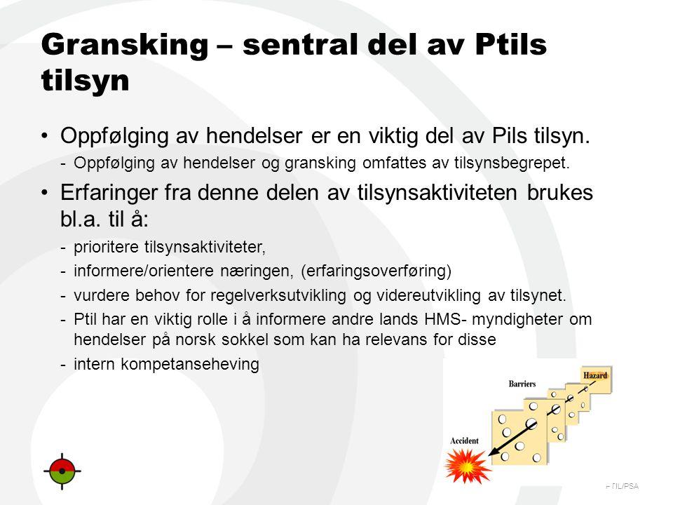 Gransking – sentral del av Ptils tilsyn