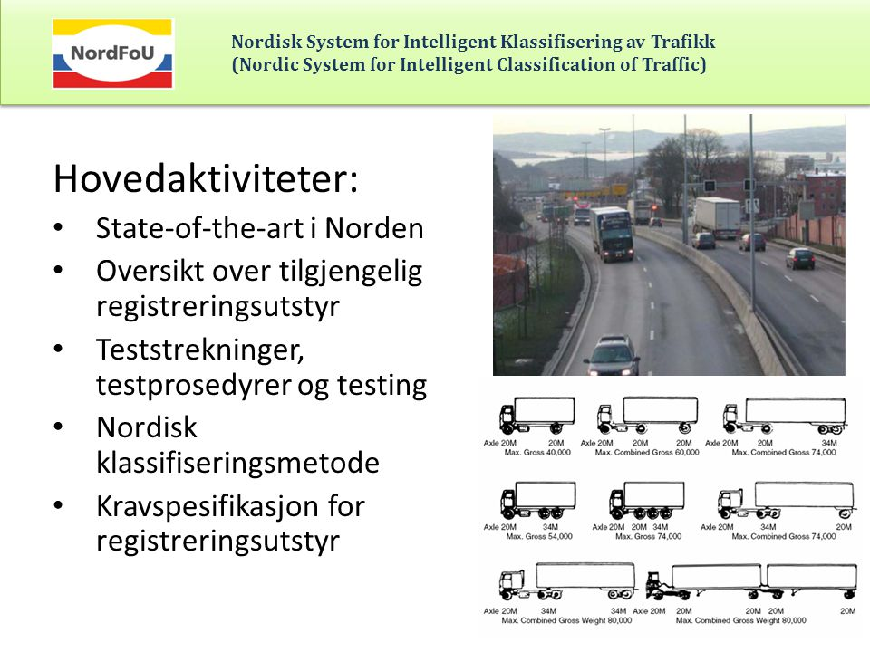 Hovedaktiviteter: State-of-the-art i Norden
