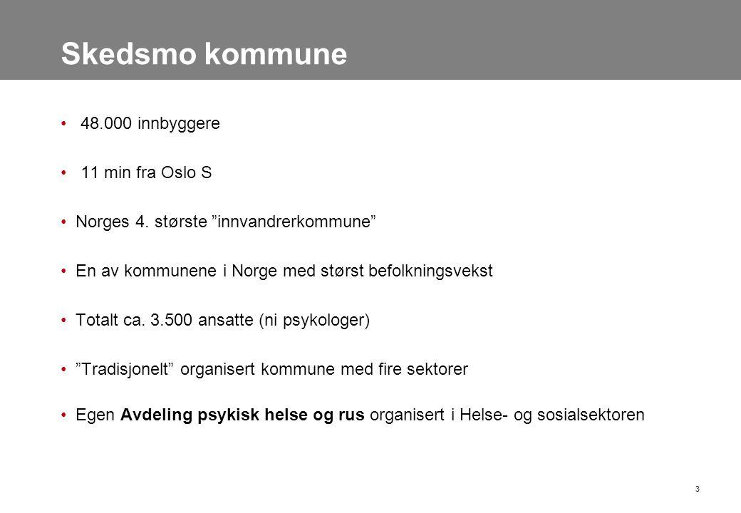 Skedsmo kommune 48.000 innbyggere 11 min fra Oslo S