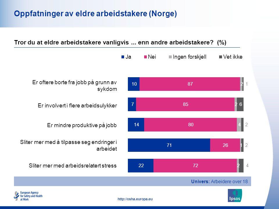 Oppfatninger av eldre arbeidstakere (Norge)