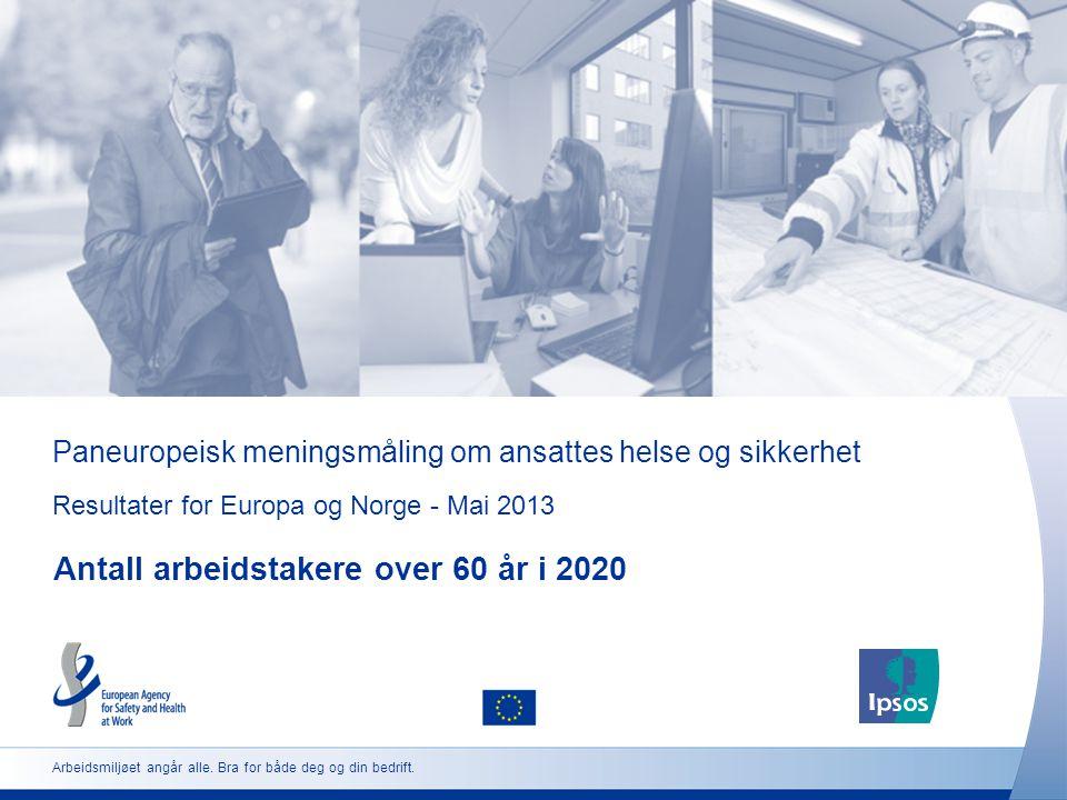 Paneuropeisk meningsmåling om ansattes helse og sikkerhet