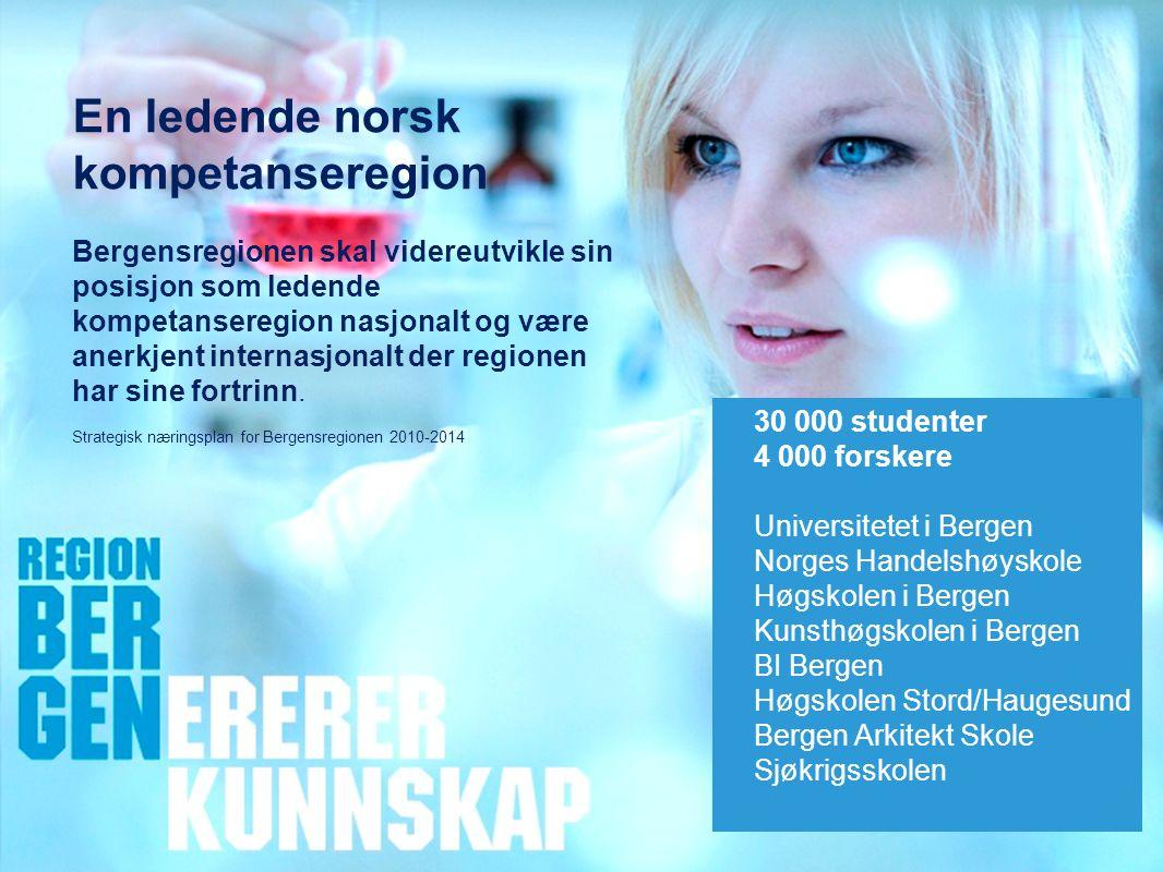 En ledende norsk kompetanseregion