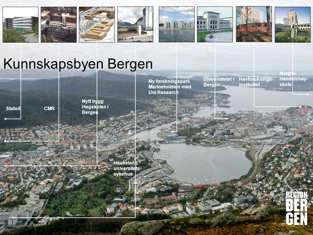 Kunnskapsbyen Bergen Norges Handelshøy-skole Universitetet i Bergen