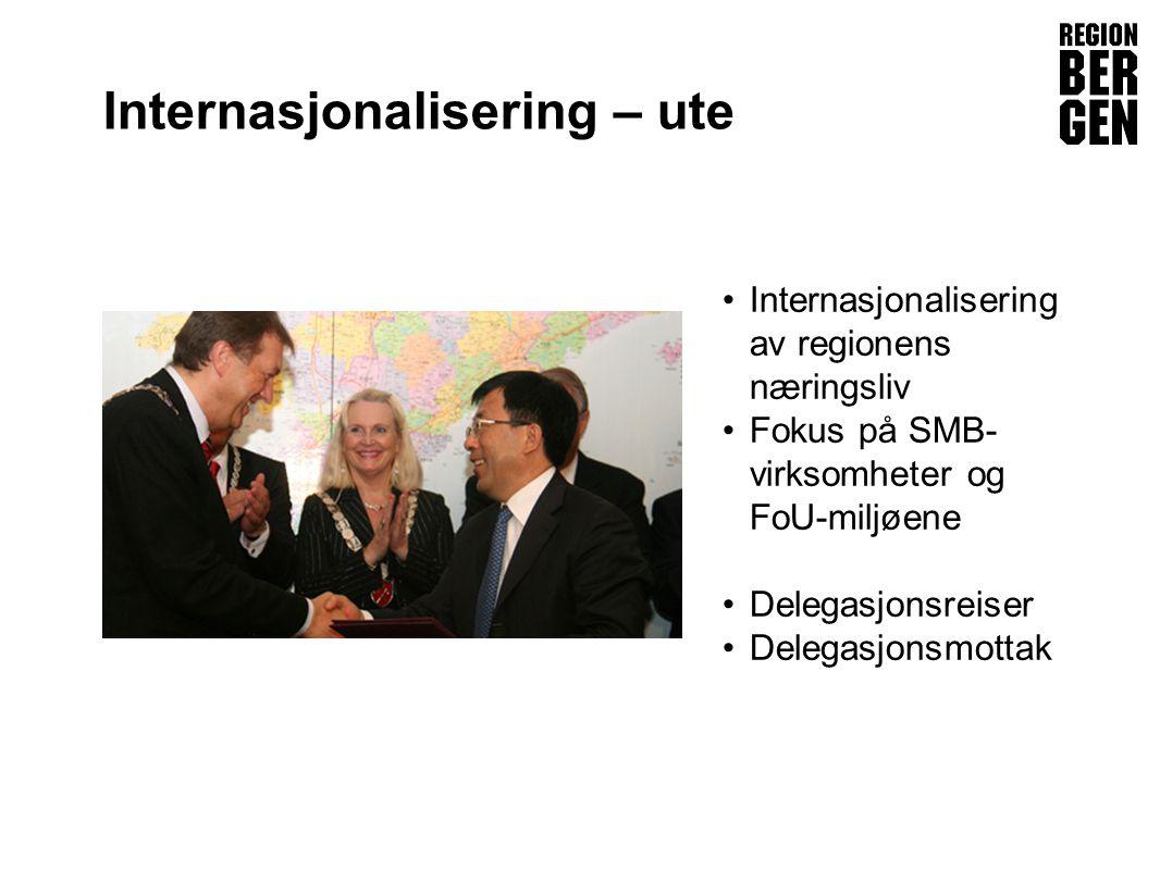 Internasjonalisering – ute