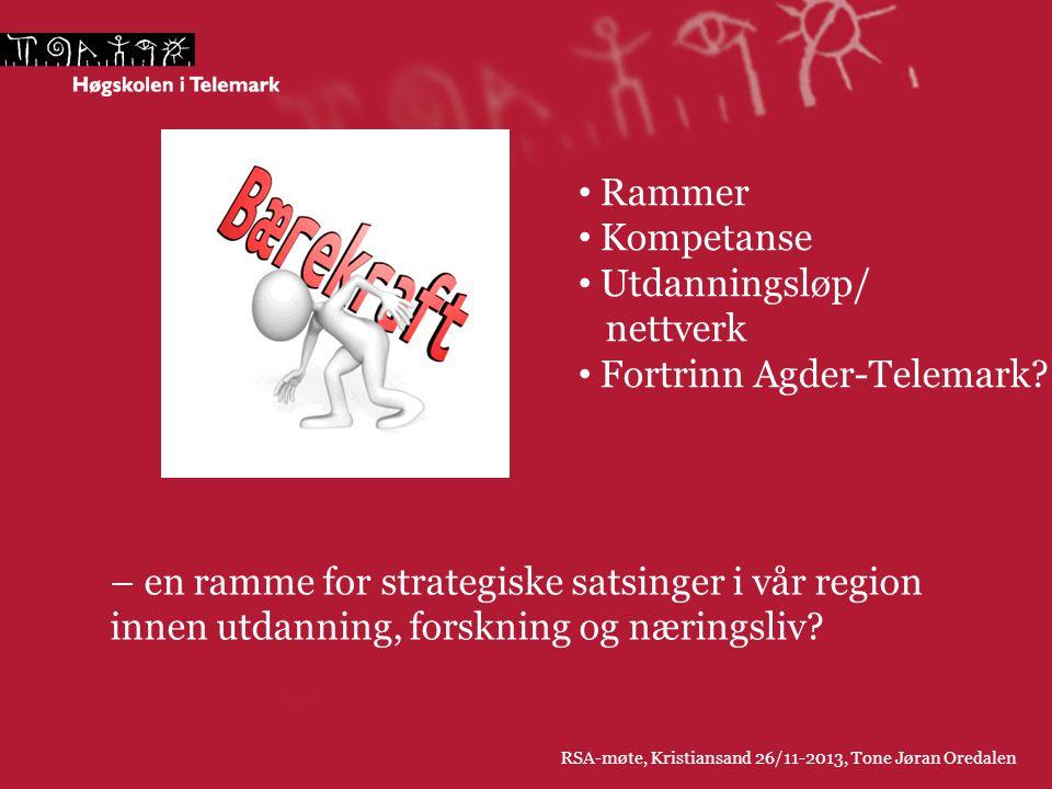 Fortrinn Agder-Telemark