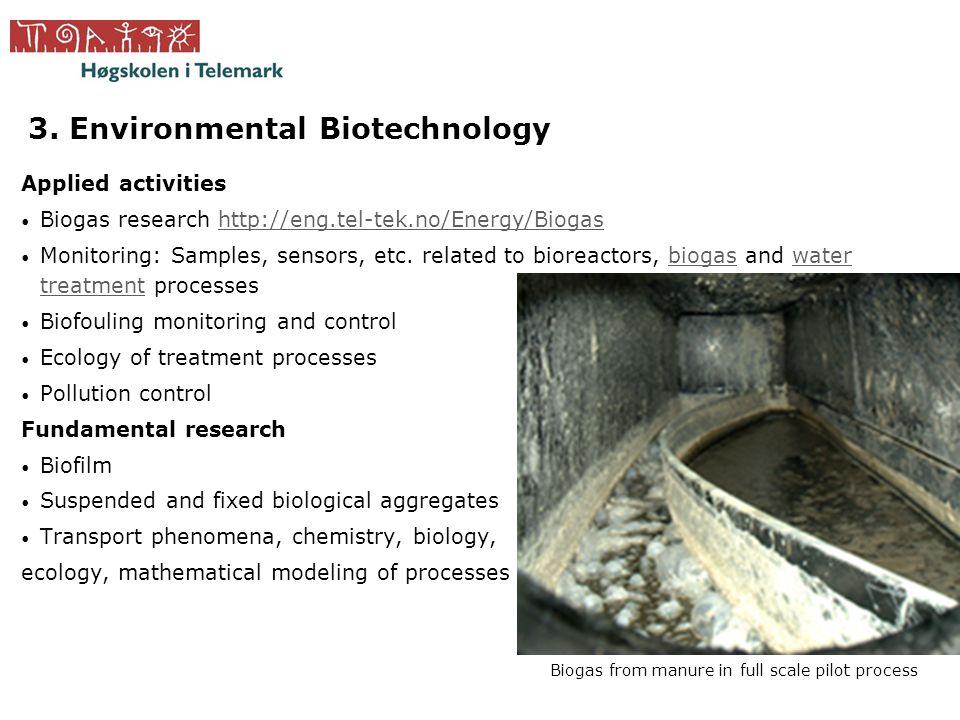 3. Environmental Biotechnology