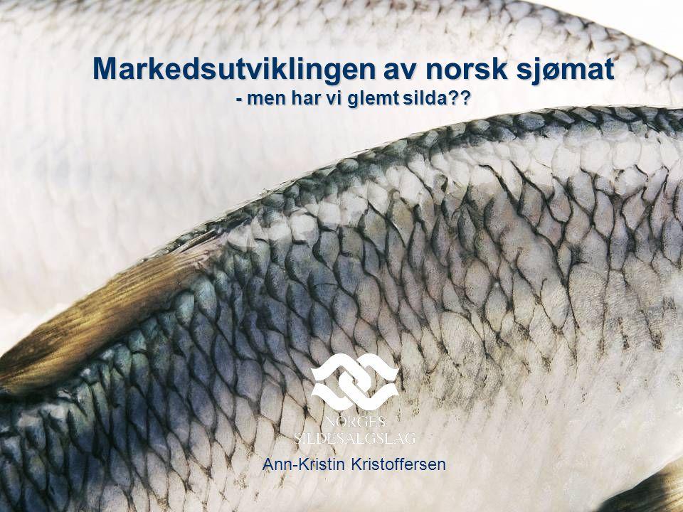 Markedsutviklingen av norsk sjømat